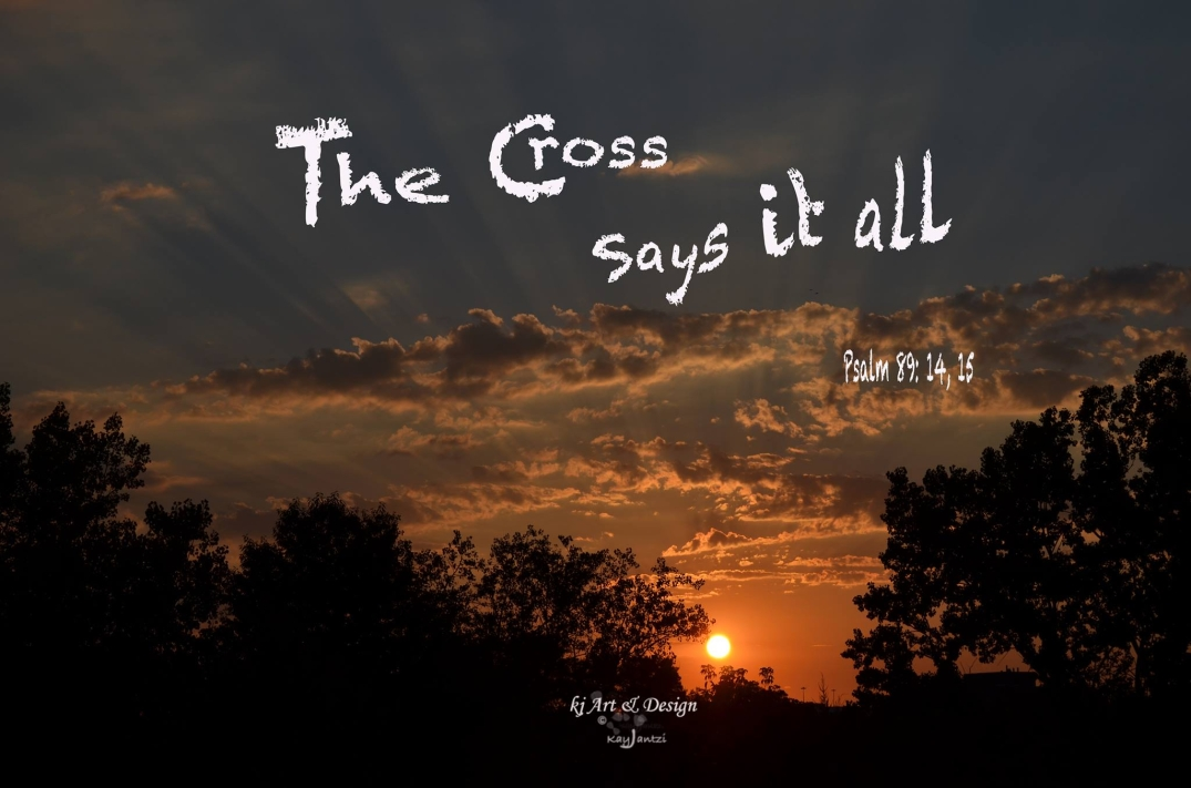 The Cross Says It All